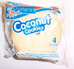 Delicious Coconut Cookies by Drakes Cakes