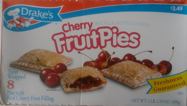 Drakes Cakes Cherry Pies