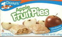 Case of Apple Pies 8 individually wrapped pies  in a box - 12 boxes in a case
